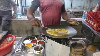 Surat street food famous for egg.. (Amtha kaka)(egg paplet/promfret)