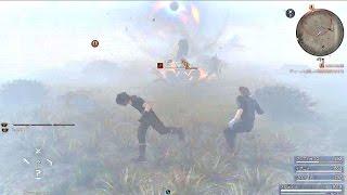 FINAL FANTASY XV - Most Powerful Magic Spells l Magic Attacks [JD Demo]