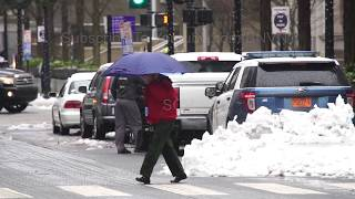 Raleigh, NC Snow continues to fall this morning - 12/10/2018