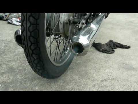 Honda CB125K3 始動