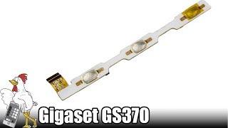 Guía del Gigaset GS370: Cambiar Pulsadores laterales