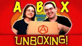 UNBOXING! A-BOX October 2017 - POWER - #ThorRagnarok #StarTrek