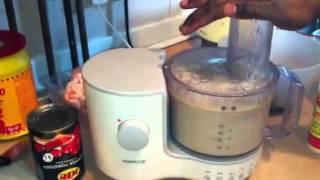 Maman Nicole Loboko cuisine congolaise mbika na ba crevettes na mayebo part 1