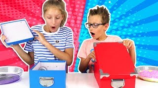 MYSTERY BOX SLIME SWITCH-UP CHALLENGE!!!