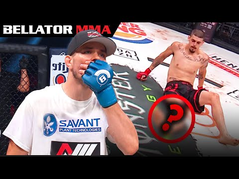Top Crazy Fight Ending Moments Bellator MMA