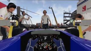 Formula 2016 entrenamiento en monaco