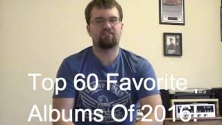 Favorite Albums of 2016!