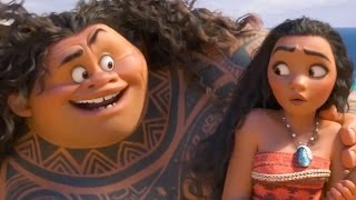 Moana - Mauis Song | official FIRST LOOK clip (2016) Disney