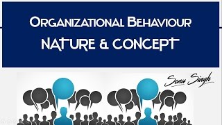 Organizational Behavior {OB} - Nature & concept | Meaning | Characteristics | BBA / MBA | ppt