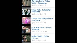 Sinhala video songs - Music videos Android app free
