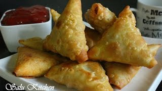 How To Make Samosa Sheet &  Vegetable Samosa / Iftar Recipe