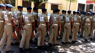 rpf constable platoon marching at trg centre mly hyderabad