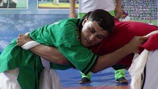 گورش، ورزش سنتی محبوب در ترکمنستان