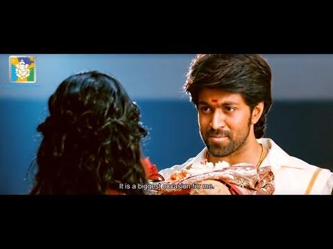 Masterpiece Yash Proposing Radhika Pandit Scene - Mr and Mrs Ramachaari Kannada Full Movie