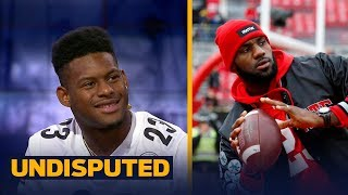 Steelers' JuJu Smith-Schuster is trying to recruit LeBron James to sign with Pittsburgh | UNDISPUTED