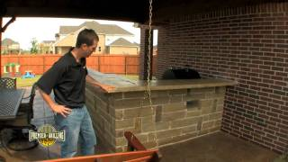 1-Outdoor Kitchens BBQ Grills Construction Premier Grilling Frisco, TX