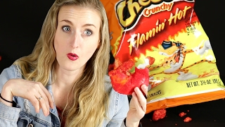 People Try Hot Cheetos Bagels