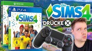 Die Sims 4 für Konsole | Daniel entdeckt die neue Steuerung auf PS4