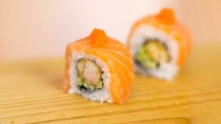 Salmon Dreams Sushi Roll Recipe