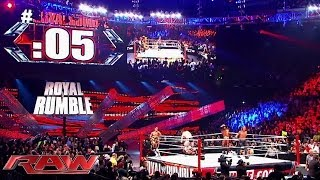 Royal Rumble by the numbers: Raw, Jan. 20, 2014