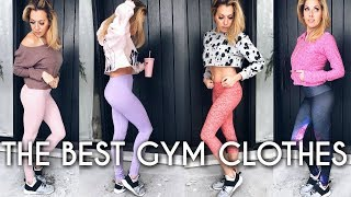 THE BEST GYM CLOTHES | best quality & most flattering leggings