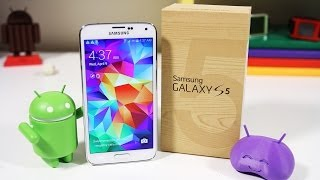 Samsung Galaxy S5: Unboxing & Review