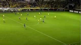 ジェフ千葉'12 vs福岡@フクアリ 前半42分~前半終了 2,Sep,2012