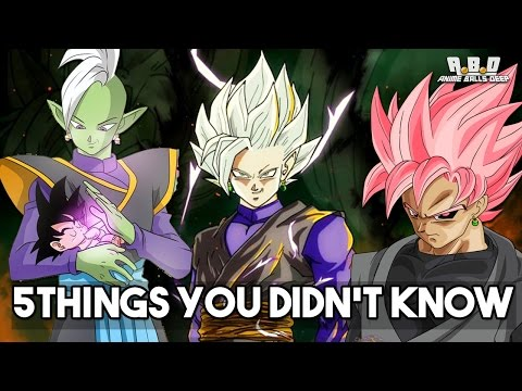 5 Things You Didn't Know About Black Goku (Probably) - Dragon Ball Super