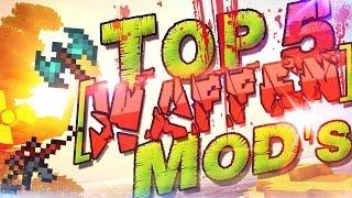 Top 5 Minecraft Mods ★ Waffen Mods ★ Deutsch German | Gun Mods & Weapon Mods | Top Minecraft Mods