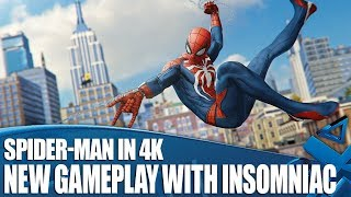 NEW Marvel's Spider-Man Gameplay - Tips and Tricks with Insomniac in 4K!