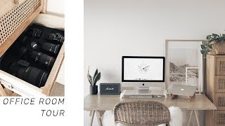 ROOM TOUR | 2018 Office & Studio Space