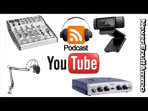 How to Podcast Equipment u Need Youtube Live Stream
