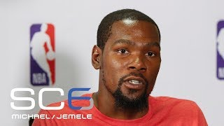 Kevin Durant Says He'd Skip Warriors' White House Invitation | SC6 | ESPN