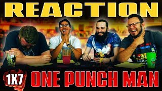 One Punch Man 1x7 REACTION!!
