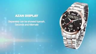 MIKAT Analog & Digital Watches Full Function and Operating Systems Video