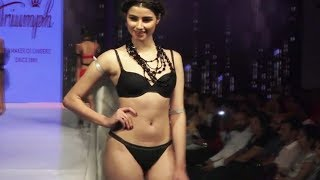 Indian Models in Lingerie   Fashion Show   Ramp Walk   2017