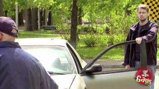 Cop Locks Keys In Car Prank