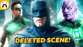 Justice League Deleted Scene Featured Batman Meeting Green Lanterns