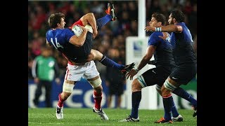 Huge Rugby Hits and Fends!