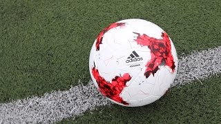 Krasava Russia Confederations Cup 2017 Ball Unboxing & First Time Test!