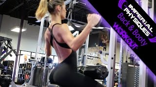 Back Workout with Imperial Physiques Athlete Alejandra Perez