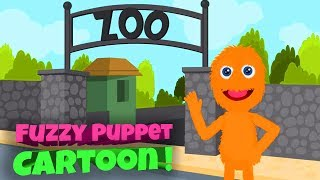 Funny Animals Cartoons Compilation for Kids & Babies 😂 FuzzyPuppet Best Cartoons Full Episodes [HD]