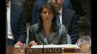 YOU will not BELIEVE what UN Ambassador Nikki Haley just said about ISRAEL| SLAMS UN