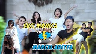 Suci Monica VS Marcel Aditya Main Tebak Kata !! Cinta Sucinya AishTV