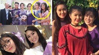 Cận cảnh nhan sắc của 2 cô em gái ruột của Lê Phương trong đám cưới khiến quan khách đều bất ngờ