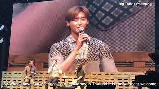 [English SubTitle] : FIRST INTERVIEW FOR  2018 LEEJONGSUK FAN MEETING 'CRANK UP' IN BANGKOK