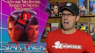 Star Trek V: The Final Frontier - Cinemassacre Rental Reviews