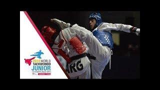 [ SEMI FINAL Iran vs Russia  Male (-55 kg) ] |2018 WORLD JUNIOR TAEKWONDO CHAMPIONSHIPS