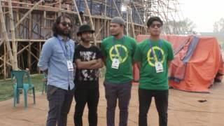 Joy Bangla Concert 2017 Behind the scenes and drumcam