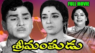 Srimanthudu Full Length Telugu Movie || Akkineni Nageswara Rao, Jamuna || Ganesh Videos - DVD Rip..